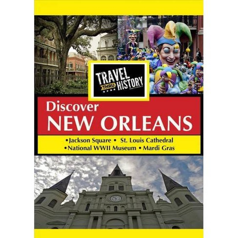 Travel Thru History: New Orleans (DVD) - image 1 of 1