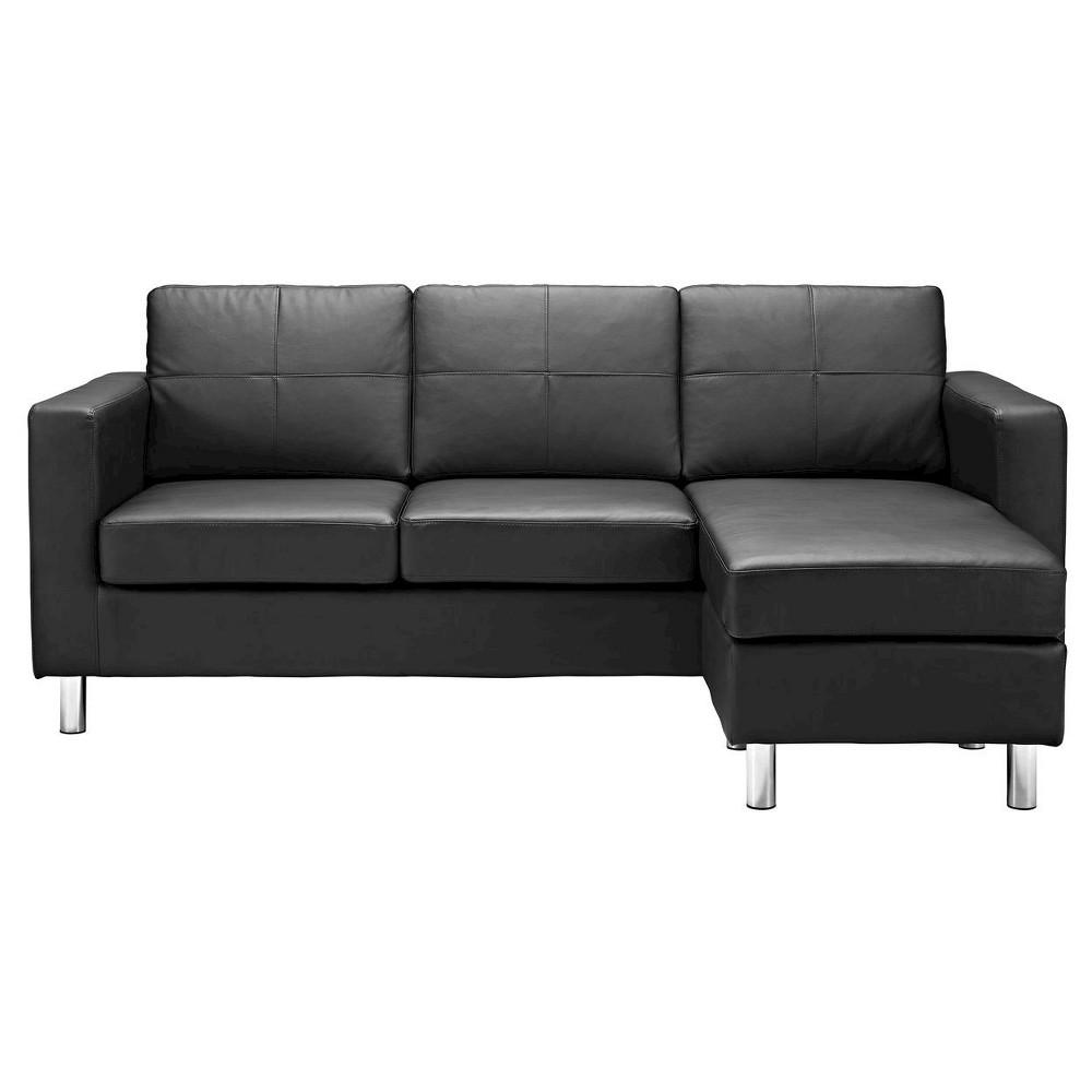 Nash Configurable Sectional Sofa Black - Dorel Living