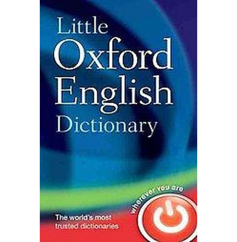 Little Oxford English Dictionary (Reissue) (Hardcover) - image 1 of 1