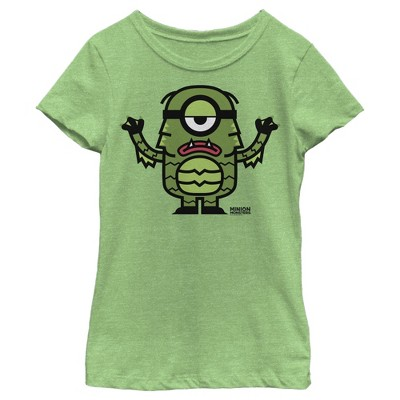 Girl's Despicable Me Minions Creature From The Lagoon T-Shirt