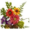 Garden Flower Teardrop - Nearly Natural - image 2 of 3