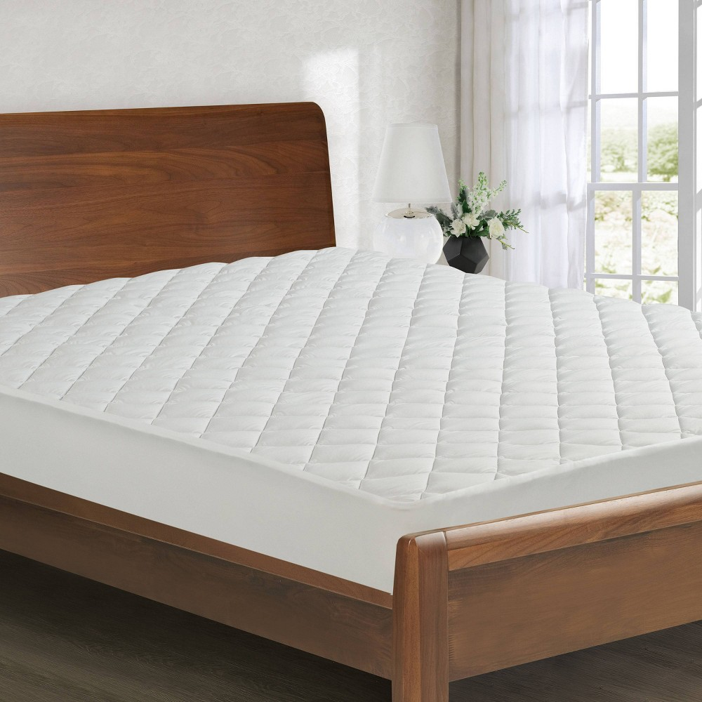 Twin All Seasons Reversible Fitted Mattress Pad All In One