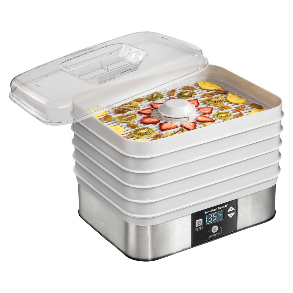 Image of Hamilton Beach 5 Tray Dehydrator, Stainless