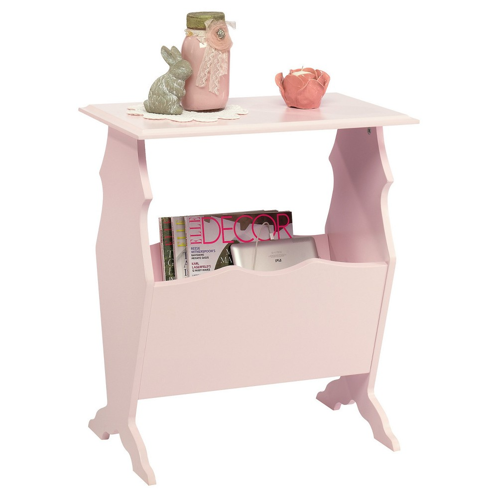 Sauder Office Furniture Eden Rue Side Table with Magazine...