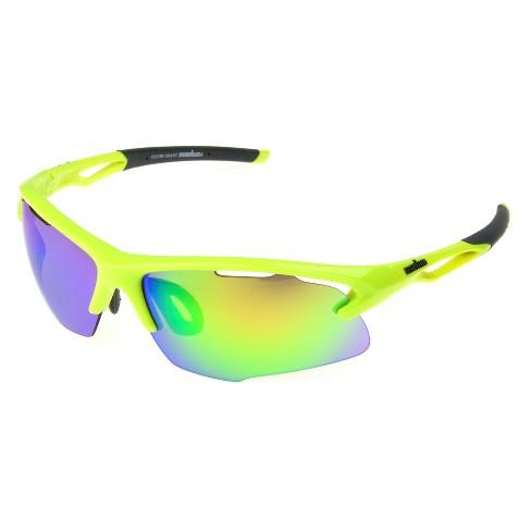 ea740c6b95 Men s Ironman Ironflex Polarized Wrap Blade Sport Sunglasses   Target