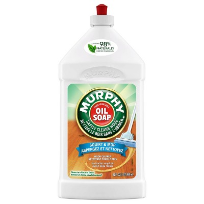 Wood Cleaner: Murphy's Squirt & Mop