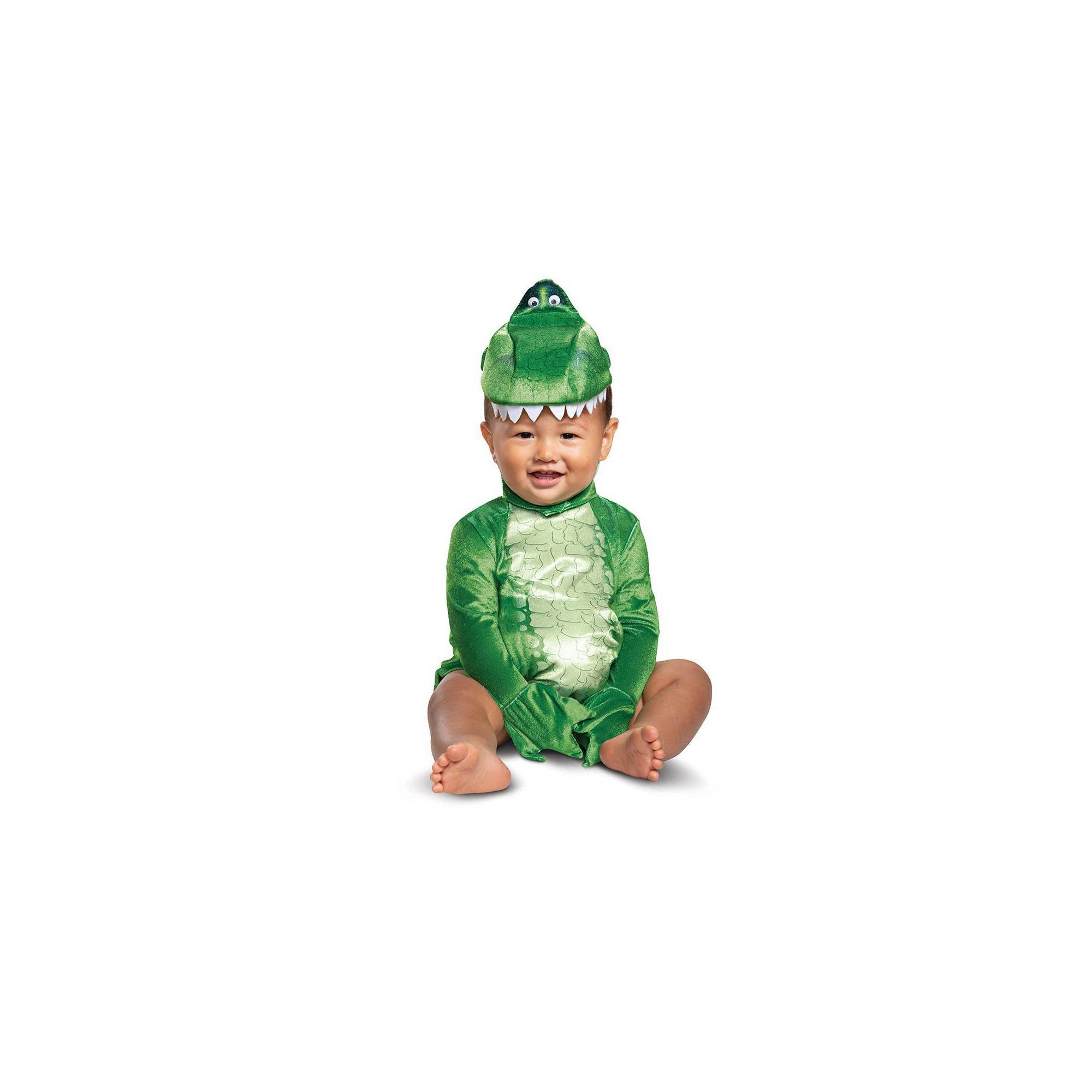 Baby Toy Story Rex Halloween Costume 12-18M, Infant Boy's, Multicolored