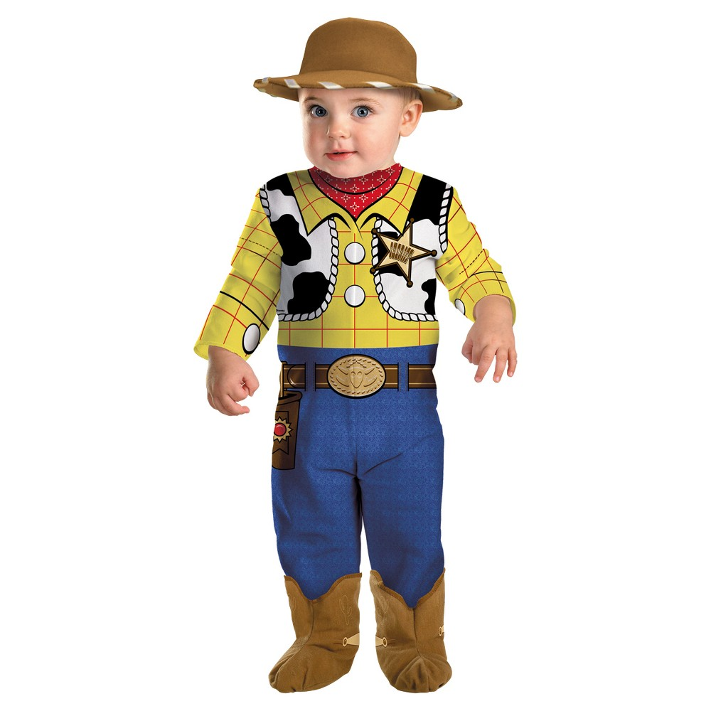 Halloween Toddler Toy Story Woody Halloween Costume 3T-4T, Men's