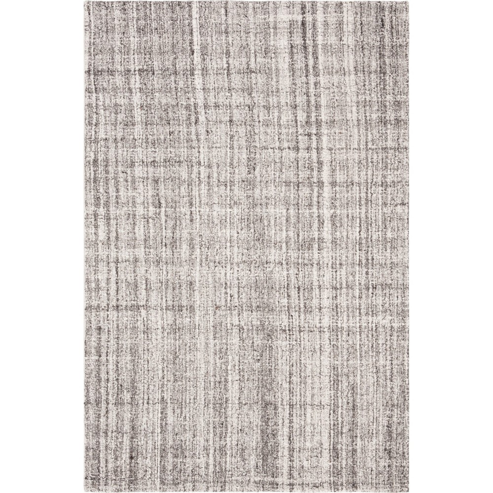 6'X9' Shapes Tufted Area Rug Gray/Black - Safavieh
