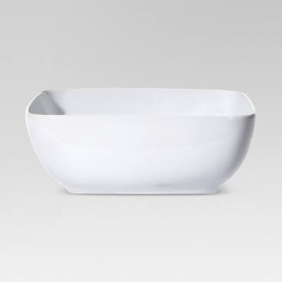 96oz Porcelain Square Serving Bowl - Threshold™