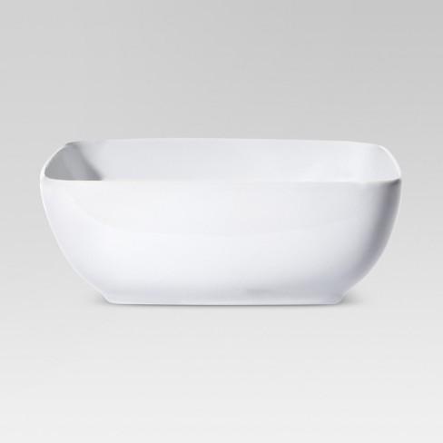 96oz Porcelain Square Serving Bowl - Threshold™ - image 1 of 1