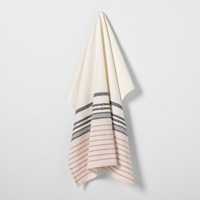 Ombre Patterned Flour Sack Pink Stripe - Hearth & Hand™ with Magnolia
