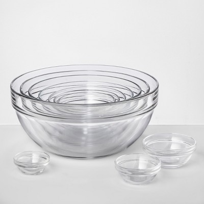 Set of 10 Glass Mixing Bowls - Made By Design™