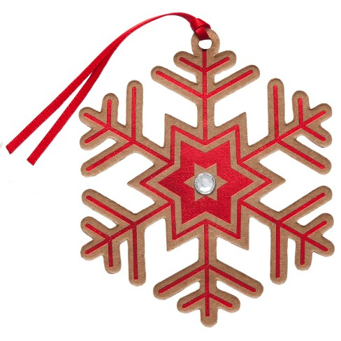 6ct Snowflake Premium Gift Tag Set - Wondershop™ - image 1 of 2