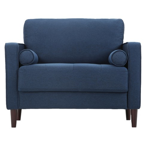 Lillith Large Chair - Navy Blue - Lifestyle Solutions - image 1 of 4