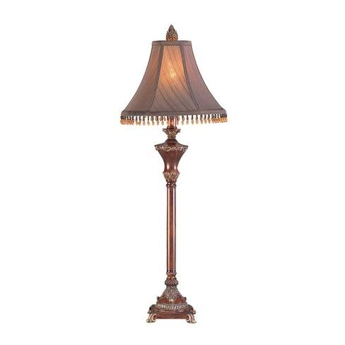 OK Lighting Resemble Wood Buffet Lamp - image 1 of 1