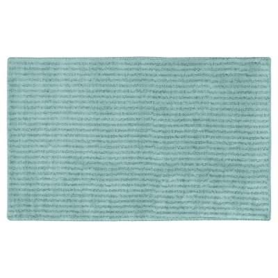 Garland Sheridan Plush Washable Nylon Bath Rug - Sea foam (30 x50 )