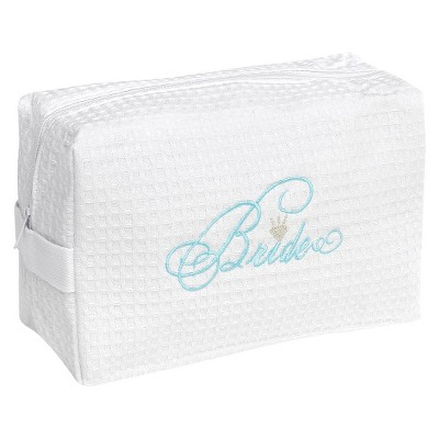 Bride Waffle Cosmetic Bag