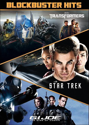 Blockbuster Hits: Transformers/Star Trek/G.I. Joe: The Rise of Cobra (DVD)