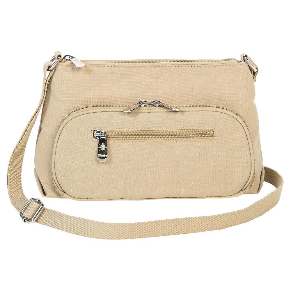 Image of Mondo Women's Small Crossbody Handbag - Khaki, Beige