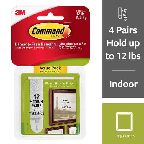 Command Picture Strips Med 12pk Target