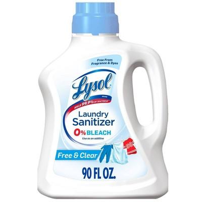 Lysol Laundry Sanitizer Free & Clear - 90oz