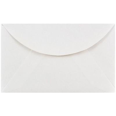 JAM Paper 2Pay Mini Commercial Envelopes 2.5 x 4.25 White 201215