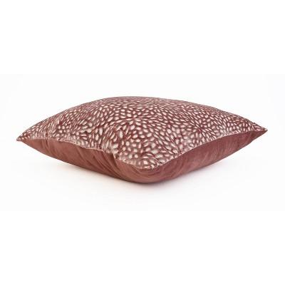 "20""x20"" Evie Cut Velvet Pillow - Decor Therapy : Target"