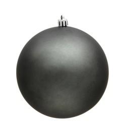 "Vickerman 2.75""/12ct Pewter UV Coated Matte Ball Ornament"