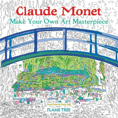Claude Monet (Art Colouring Book) - (Colouring Books) By Daisy Seal  (Paperback) : Target