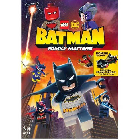 Lego Dc: Batman: Family Matters (DVD) - image 1 of 1