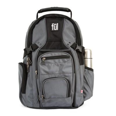 """FUL 19"""" Tennman Backpack - Titanium"""