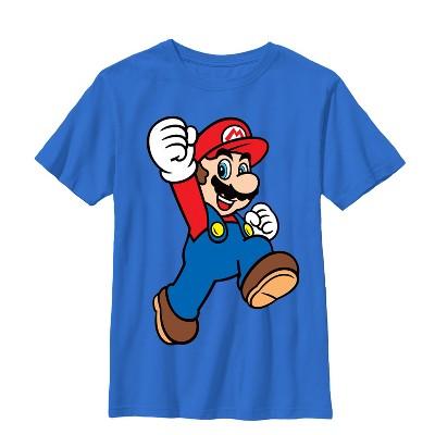 Boy's Nintendo Mario Jumpman T-Shirt