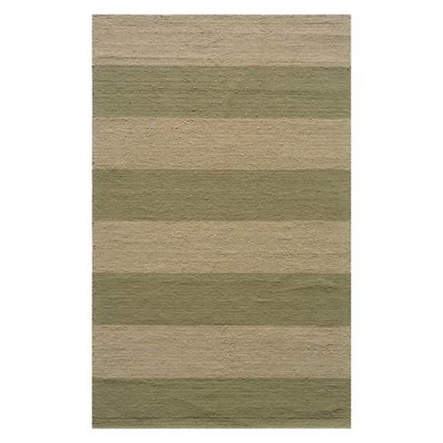 Veranda Langdon Stripe Hooked Accent Rug - Momeni - image 1 of 2