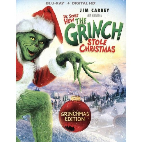 Blu-ray Dr. Seuss' How The Grinch Stole Christmas (Blu-ray)