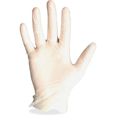 Protected Chef Disposable Gloves Vinyl Powder Free X-Large 100/BX CL 8961XL