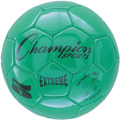 Champion Extreme Series Soccer Ball, Size 5, Green