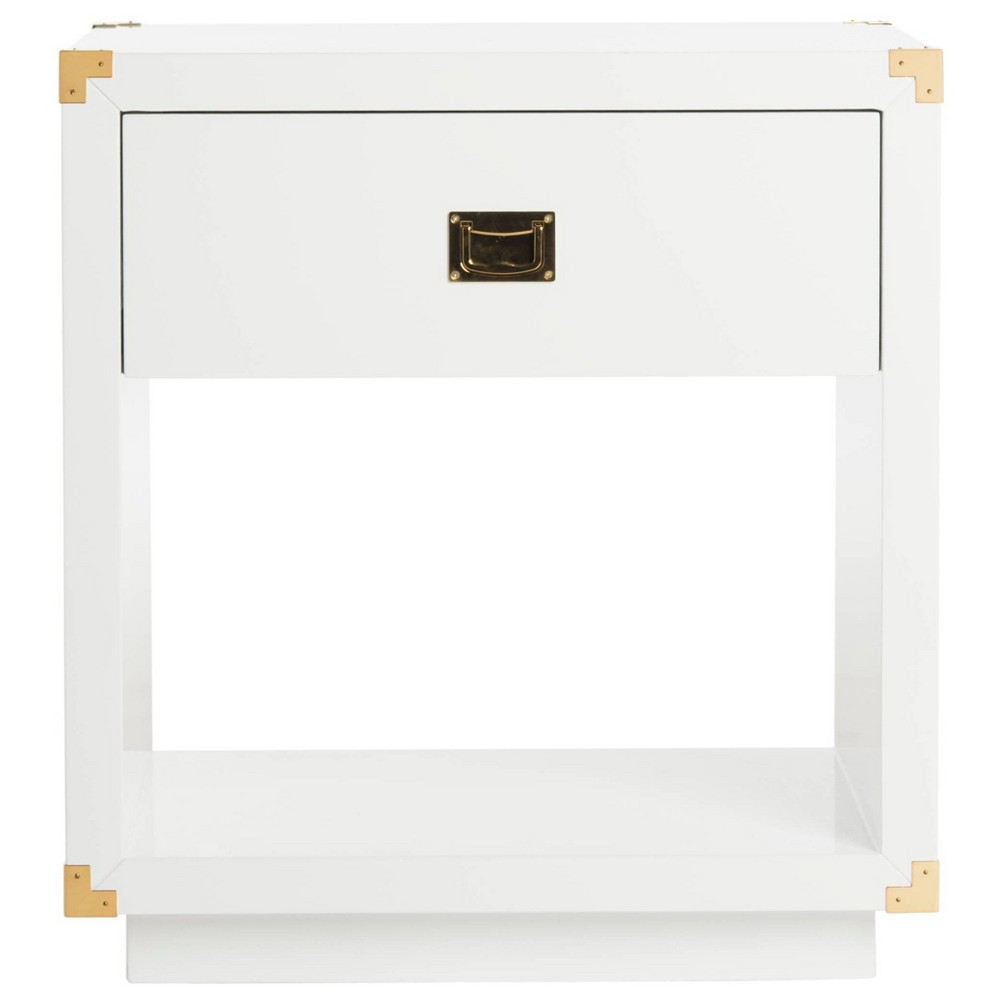 Low Price End Table White Safavieh