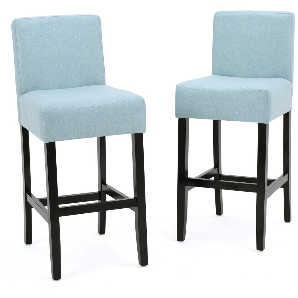 26 Lopez Counter Stool - Light Blue (Set Of 2) - Christopher Knight Home