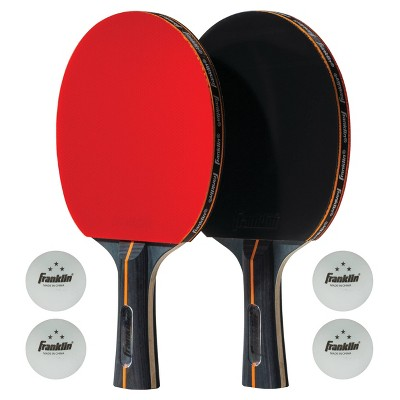 Franklin Sports Pro Carbon Core 2 Player Table Tennis Set