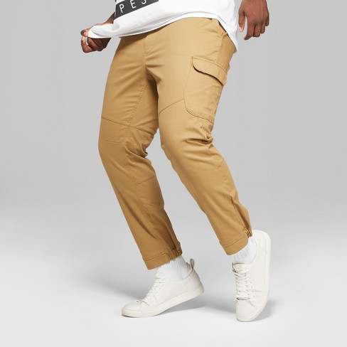 Men's Big & Tall Tapered Cargo Pants - Original Use™ Dapper Brown 50