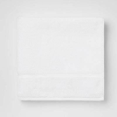 Performance Texture Bath Towel White - Threshold™