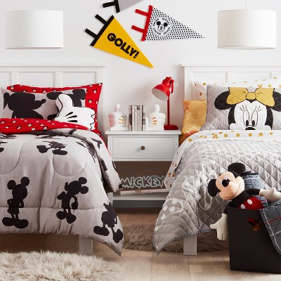 Disney Mickey Mouse & Minnie Mouse + Pillowfort™ Kids' Bedroom Collection
