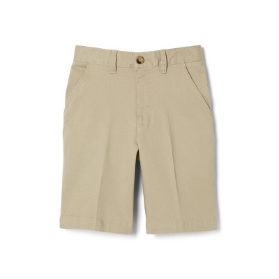 French Toast Young Men's Uniform Chino Shorts - Khaki