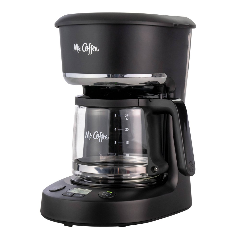 Image of Mr. Coffee 5-Cup Programmable Coffee Maker - Black
