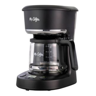 Mr. Coffee 5-Cup Programmable Coffee Maker - Black