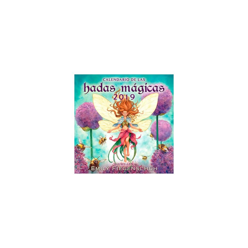 Calendario de las hadas mágicas 2019 / Llewellyn's Magical Fairy 2019 Calendar - (Paperback)