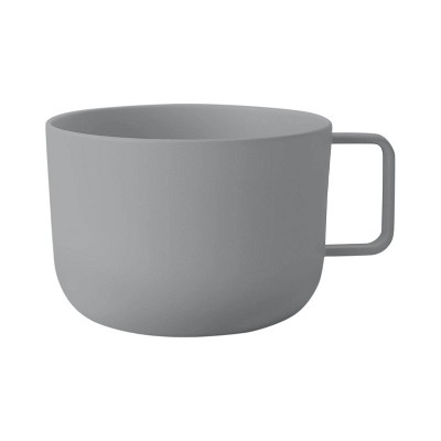 30oz Plastic Soup Mug Gray - Room Essentials™