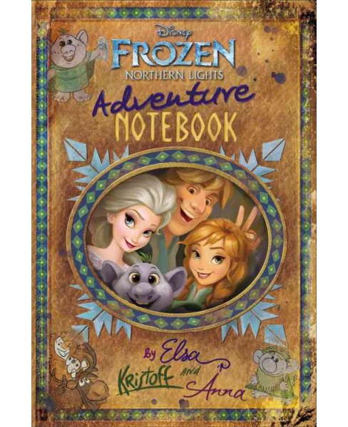 Frozen Northern Lights Adventure Notebook (Hardcover) (Becky Matheson & Jessica Julius) - image 1 of 1