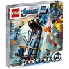 LEGO Marvel Avengers: Avengers Tower Battle Building Toy with Minifigures 76166 - image 3 of 4
